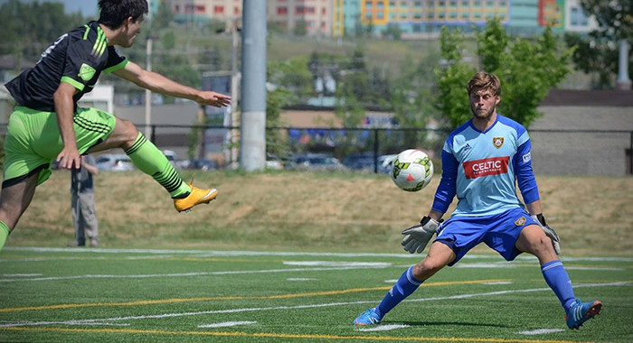 Calgary Foothills FC, Canada, Foothills, Images, PDL, Photos, Pictures, Premier Development League, Seattle Sounders FC, Sounders FC U23 Calgary, Stuart Gradon, Total Soccer Project, Seattle Sounders